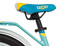 s'cool niXe 18 3-S Lapset lasten polkupyörä alloy , sininen/turkoosi